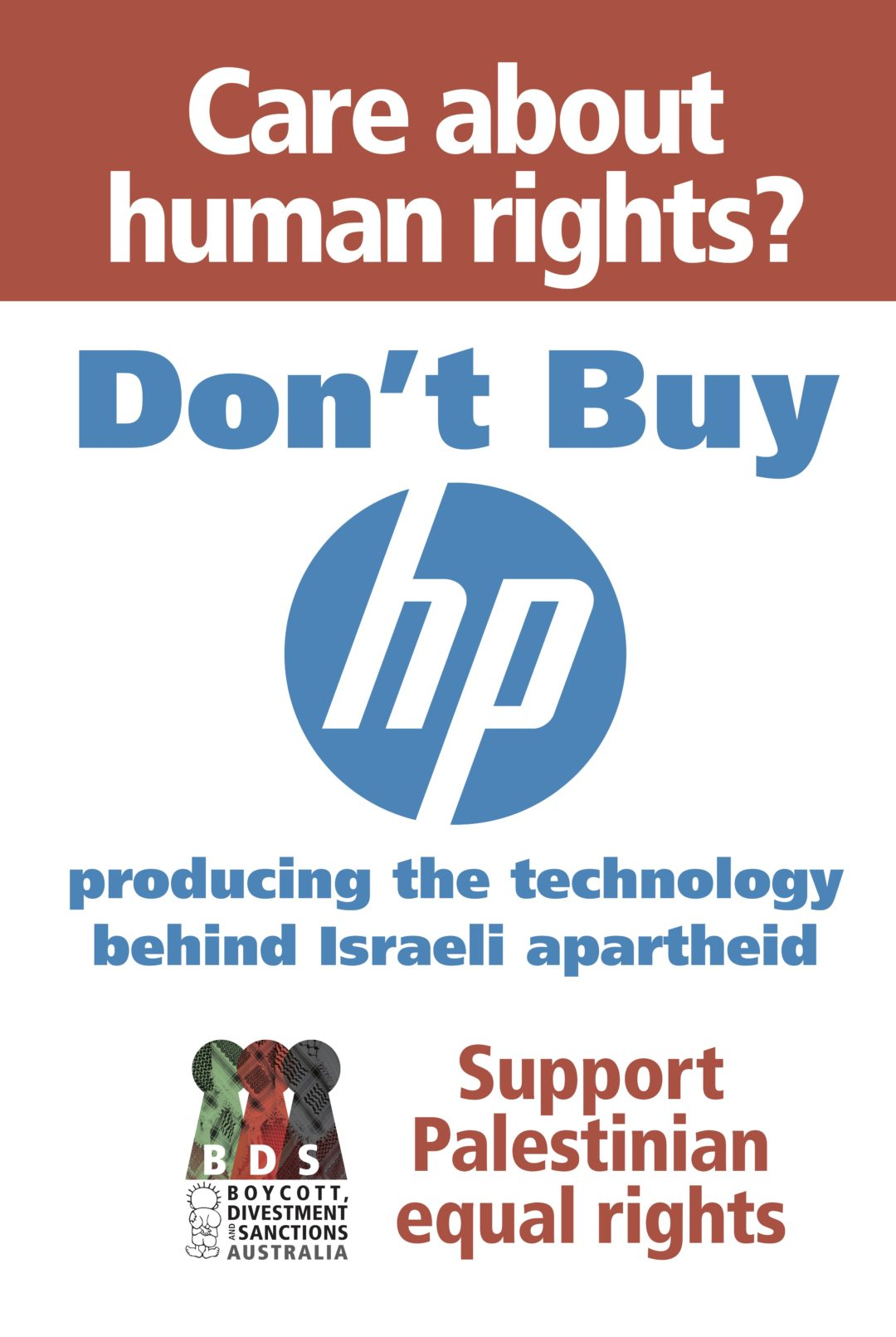 Australian campaign: Don't Buy HP